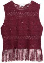 A.L.C. crochet tank top