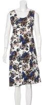 Marni Floral Print Sleeveless Dress