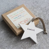 Modo creative Personalised Wooden Memory Star