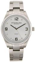 Stuhrling Original Stainless Steel & Diamond Watch, 42mm