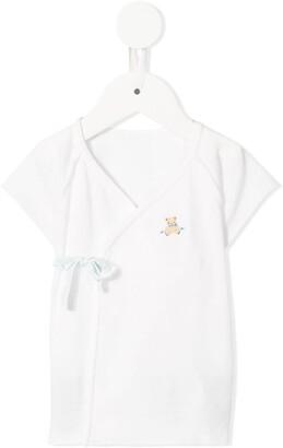 Familiar wrap style blouse