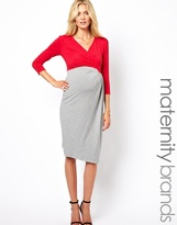 Isabella Oliver Two Tone Pencil Dress