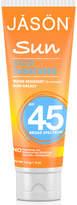 Jason Sports Sunscreen Broad Spectrum SPF45 113g
