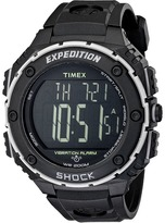 Timex EXPEDITION® Shock XL Vibrating Alarm Resin Strap Watch