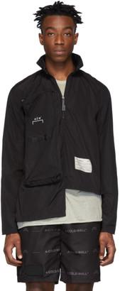 A-Cold-Wall* Black Nylon Zip Pocket Jacket