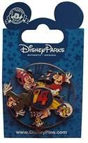 Disney Walt World WDW 2014 Spinner Collectible Pin