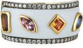 Ayva Jewelry 18k Yellow Gold Boss Agate Ring