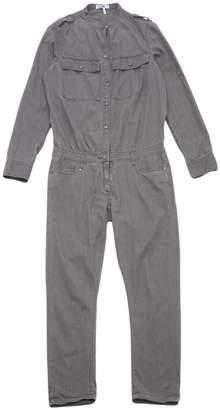 Paige Grey Cotton Jumpsuits