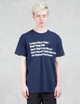 "HOMBRE Nino Dumpster"" Print S/S T-shirt"