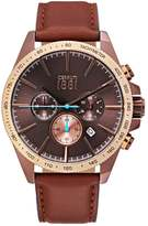 Cerruti 1881 Conero Chronograph Watch Bronzefarben/braun