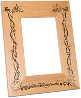Disney Walt World Cinderella Wedding Photo Frame by Arribas - Personalizable