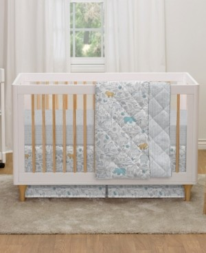 Lolli Living Safari 4-Piece Crib Bedding Set Bedding