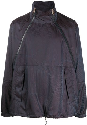 Paul Smith Funnel Neck Windbreaker Jacket