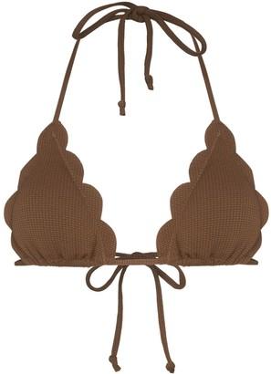Marysia Swim Broadway triangle bikini top