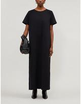 The Row Rozi short-sleeved scuba midi dress