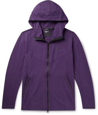 Nike Sportswear Tech Pack Stretch-Jersey Zip-Up Hoodie