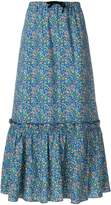 A.P.C. flared floral skirt