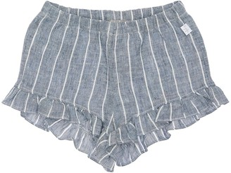 Il Gufo Striped Linen Shorts