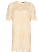 Isabel Marant Ruthel Embroidered T-shirt Dress