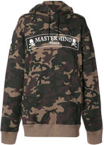 Mastermind Japan camouflage logo hoodie