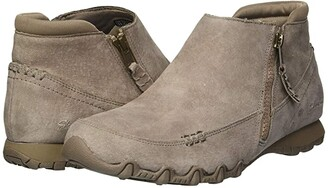 Skechers Bikers - Zippiest (Mushroom) Women's Shoes