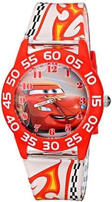 Disney Kids' W001681 Lightning McQueen Plastic Watch
