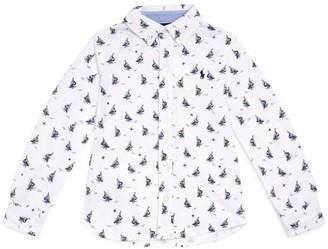 Ralph Lauren Kids Long-Sleeved Button Down Shirt (2-4 Years)
