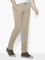 John Varvatos Coated Cotton Flatiron Pant