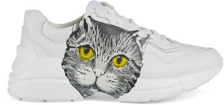 Gucci Women's Rhyton sneaker with Mystic Cat