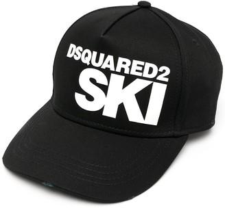 DSQUARED2 Ski logo-print baseball cap
