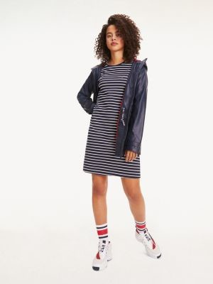 Tommy Hilfiger Essential Long Sleeve Stripe Dress