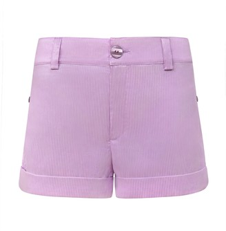 Blonde Gone Rogue Ocean Drive Sustainable Shorts - Lilac