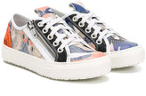 John Galliano lace-up sneakers