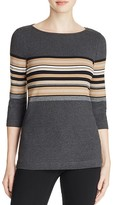 Three Dots British Stripe Sweater - 100% Bloomingdale's Exclusive