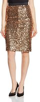 French Connection Women's Skirt - Gold - 6