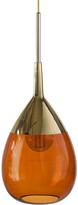 Ebb & Flow - Lute Pendant Lamp - Rust/Gold