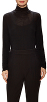 Vince Wool Ruched Turtleneck Sweater