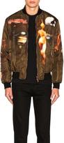Givenchy Heavy Metal Bomber Jacket
