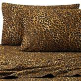 Bed Bath & Beyond Safari 300-Thread-Count Leopard Standard Pillowcases in Brown (Set of 2)