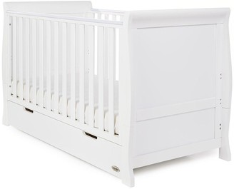 O Baby Stamford Classic Sleigh Cot Bed