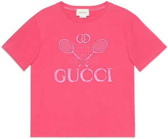 Gucci Children's logo print T-shirt