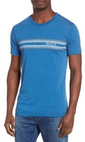 RVCA Men's Stripe Graphic T-Shirt