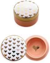 Rosanna Hearts Round Lidded Box