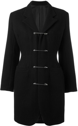 Jean Paul Gaultier Pre-Owned safety pin coat