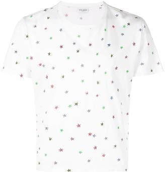 Saint Laurent Short sleeve star T-shirt