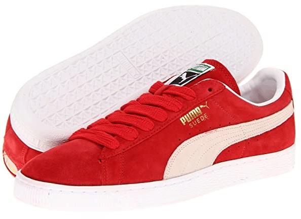 Puma Red Suede Men's Shoes | Shop the