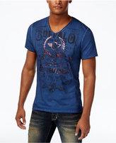 Buffalo David Bitton Men's Graphic Print Cotton T-Shirt