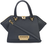 Zac Posen front flap tote - women - Calf Leather/metal - One Size