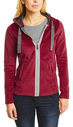 Cecil Women's 252578 Cardigan, (Cranberry red 11088), X-Large