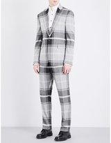 Vivienne Westwood James Slim-fit Tartan Woven Suit